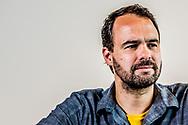 AMSTERDAM - Portet van Bart Nijman (GeenStijl).  ROBIN UTRECHT<br /> 2018 aantal bart donorwet geen geensstijl handtekeningen nederland nijman portret referendum stijl