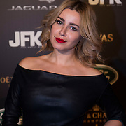 NLD/Amsterdam/20141108 - Inloop JFK Greatest Man of the Year 2014 award, Victoria Koblenko