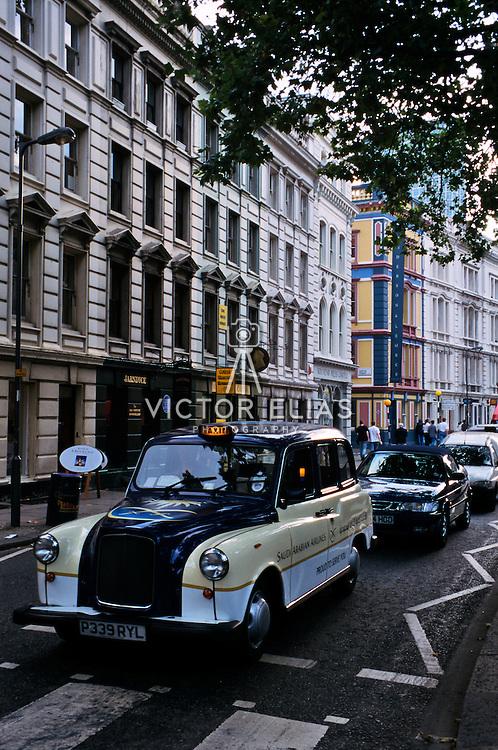 London street..London, England.