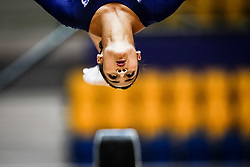 October 28, 2018 - Doha, Quatar - Marine Boyer of  France   during  Uneven Bars qualification at the Aspire Dome in Doha, Qatar, Artistic FIG Gymnastics World Championships on 28 of October 2018. (Credit Image: © Ulrik Pedersen/NurPhoto via ZUMA Press)
