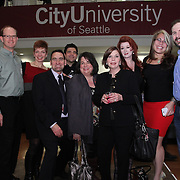 CityUniversity of Seattle Open House & Campus Dedication  Christopher Ross, VP of University of Advancement.