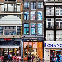 Nederland, Amsterdam, 8 februari 2017.<br />Het seksmuseum op de Damrak.<br />VOORKEURFOTO!<br /><br /><br />Foto: Jean-Pierre Jans