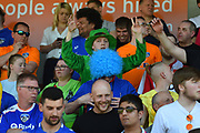 Oldham Fans during the EFL Sky Bet League 1 match between Northampton Town and Oldham Athletic at Sixfields Stadium, Northampton, England on 5 May 2018. Picture by Dennis Goodwin.