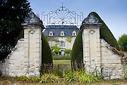 Chateau de Chaintres in Saumur Champigny region of the Loire Valley, France