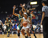 Ole Miss' Diara Moore (10) vs. Southeastern Louisiana in Oxford, Miss. on Friday, November 9, 2012.