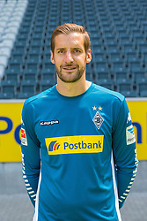 23.06.2015, Stadion im Borussiapark, Moenchengladbach, GER, 1. FBL, Borussia Moenchengladbach, Fototermin, im Bild Christofer Heimeroth (Moenchengladbach) // uring the official Team and Portrait Photoshoot of German Bundesliga Club Borussia Moenchengladbach at the Stadion im Borussiapark in Moenchengladbach, Germany on 2015/06/23. EXPA Pictures &copy; 2015, PhotoCredit: EXPA/ Eibner-Pressefoto/ Hommes<br /> <br /> *****ATTENTION - OUT of GER*****