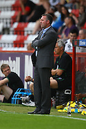 Stevenage - Tuesday July 20th, 2010:   Norwich Manager Paul Lambert during the Pre Season Friendly match at the Lamex Stadium, Stevenage. (Pic by Paul Chesterton/Focus Images)