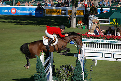 Chedraui Antonio (ITA) - Don Porfirio<br /> BMO Nations Cup<br /> Spruce Meadows Masters - Calgary 2009<br /> © Dirk Caremans