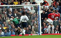 TOTTENHAM HOTSPUR V MANCHESTER UNITED 27/04/03 PREMIER LEAGUE<br />