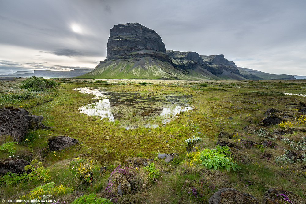 Lomagnupur mounrain taken in Southeast Iceland