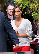 26.SEPTEMBER.2012. LONDON<br /> <br /> ALICIA KEYS ARRIVES AT ITV STUDIOS, LONDON<br /> <br /> BYLINE: EDBIMAGEARCHIVE.CO.UK<br /> <br /> *THIS IMAGE IS STRICTLY FOR UK NEWSPAPERS AND MAGAZINES ONLY*<br /> *FOR WORLD WIDE SALES AND WEB USE PLEASE CONTACT EDBIMAGEARCHIVE - 0208 954 5968*
