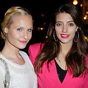 NLD/Amsterdam/20120308 - Presentatie nieuwe collectie voor Louis Vuitton, Kimberly Klaver en Marvy Rieder