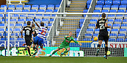Reading midfielder Daniel Williams makes it 2-0 during the Sky Bet Championship match between Reading and Bolton Wanderers at the Madejski Stadium, Reading, England on 21 November 2015. Photo by Adam Rivers.