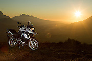 The 2015 BMW R1200GS GSTrophy motorcycle. Image by Greg Beadle Commercial photography commissioned to Beadle Photo by international brands