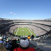A general view of MetLife Stadium during the New York Jets V New England Patriots NFL regular season game at MetLife Stadium, East Rutherford, NJ, USA. 20th October 2013. Photo Tim Clayton