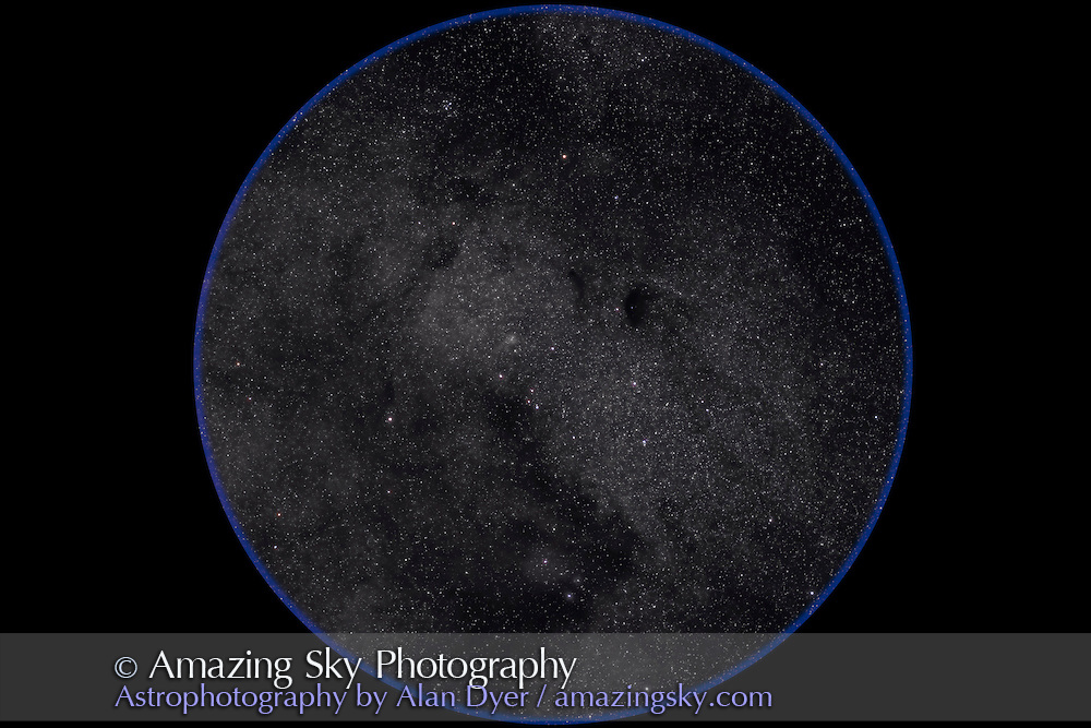 M24, Small Sagittarius Starcloud. Taken with Borg 77mm f/4 astrograph refractor and Hutech-modified Canon 5D for stack of 5 x 8 minute exposures at ISO 400. Taken from Coonabarabran, NSW, Australia, April 18, 2007.
