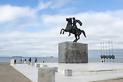 Statue of Alexander the Great, Thessaloniki, Macedonia, Greece