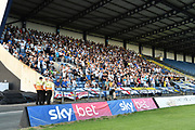 Leeds United fans during the Pre-Season Friendly match between Oxford United and Leeds United at the Kassam Stadium, Oxford, England on 24 July 2018. Picture by Graham Hunt.