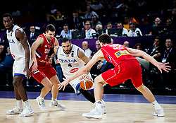Pietro Aradori of Italy during basketball match between National Teams of Italy and Serbia at Day 14 in Round of 16 of the FIBA EuroBasket 2017 at Sinan Erdem Dome in Istanbul, Turkey on September 13, 2017. Photo by Vid Ponikvar / Sportida