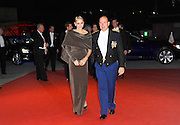 19.NOVEMBER.2011. MONACO<br /> <br /> PRINCE ALBERT II OF MONACO AND WIFE CHARLENE AT A GALA FOR THE NATIONAL DAY OF MONACO, AT GRIMALDI FORUM, IN MONACO.<br /> <br /> BYLINE: EDBIMAGEARCHIVE.COM<br /> <br /> *THIS IMAGE IS STRICTLY FOR UK NEWSPAPERS AND MAGAZINES ONLY*<br /> *FOR WORLD WIDE SALES AND WEB USE PLEASE CONTACT EDBIMAGEARCHIVE - 0208 954 5968*