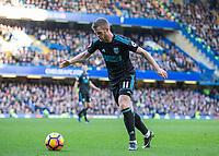 Football - 2016 / 2017 Premier League - Chelsea vs. West Bromwich Albion<br /> <br /> Chris Brunt of West Bromwich Albion at Stamford Bridge.<br /> <br /> COLORSPORT/DANIEL BEARHAM