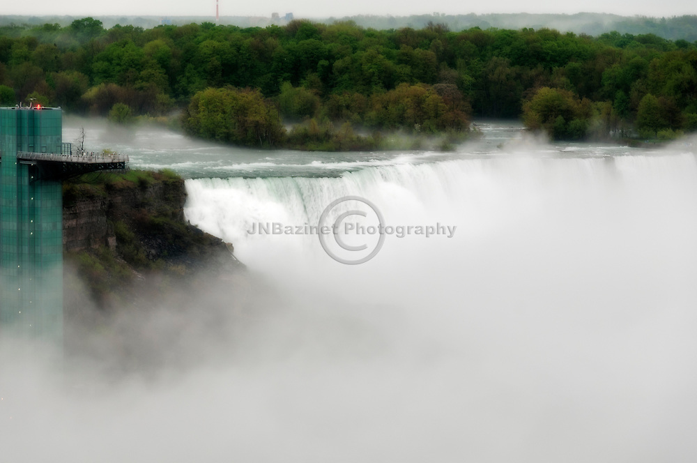 Prospect Point and the observation tower at the American Falls, Niagara NY