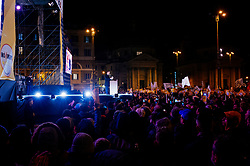 Luigi Di Maio. FiveStars movement electoral campaign closing rally at Piazza del Popolo in Rome on 2 Febraury 2018. Christian Mantuano / OneSho.