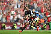 Nottingham Forest midfielder Henri Lansbury (10) celebrates his goal to put the Nottingham Forest 2-2 during the EFL Sky Bet Championship match between Aston Villa and Nottingham Forest at Villa Park, Birmingham, England on 11 September 2016. Photo by Jon Hobley.