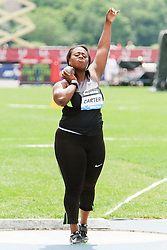 Samsung Diamond League adidas Grand Prix track & field; Women's Shot Put, Michelle Carter, USA