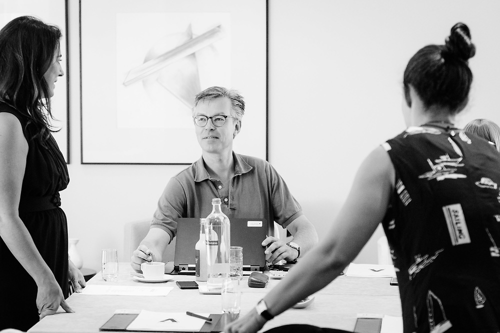 Accessible Art Fair meeting. Brussels, Belgium <br /> <br /> 02/06/2017