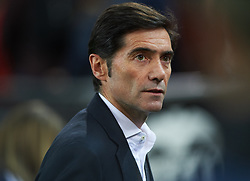 January 26, 2019 - Valencia, Valencia, Spain - Marcelino Garcia Toral of Valencia CF looks on during the La Liga Santander match between Valencia and Villarreal at Mestalla Stadium on Jenuary 26, 2019 in Valencia, Spain. (Credit Image: © Maria Jose Segovia/NurPhoto via ZUMA Press)