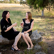 Melinda and Stacey
