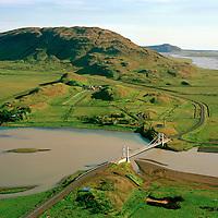 Iða séð til suðurs, Hvitá, Vörðufell, Bláskógabyggð áður Biskupstungnahreppur / Ida viewing south, river Hvita, mount Vordufell, Blaskogabyggd former Biskupstungnahreppur.
