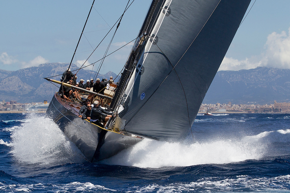 SPAIN, Palma. 19th June 2013. Superyacht Cup. J Class. Race One. Lionheart.