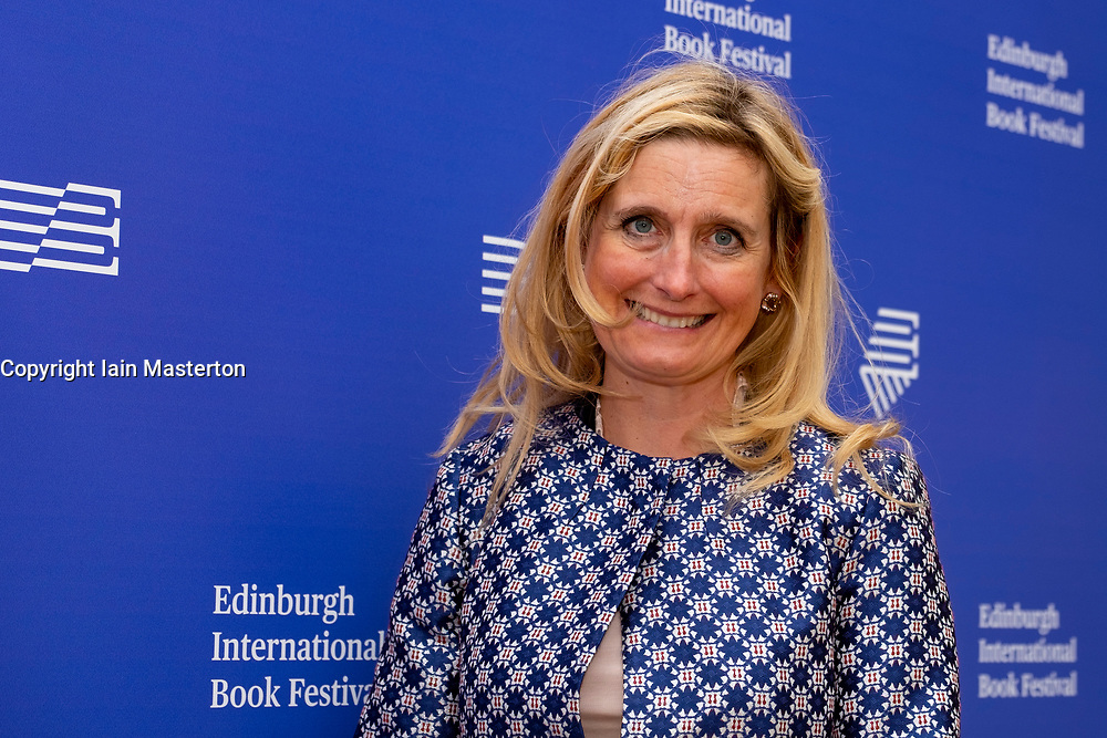 "Edinburgh, Scotland, UK. 26 August, 2018. Pictured; Cressida Cowell the worldwide bestselling author of How to Train Your Dragon. She returns to the book festival with the second book from her new series ""The Wizards of Once: Twice Magic.""."