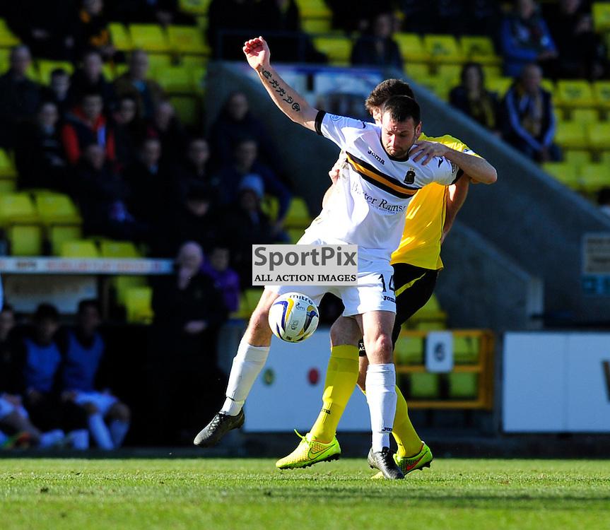 Livingston FC vs Dumbarton FC Scottish Championship 21 MARCH2015.