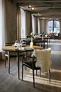 The two-Michelin star restaurant Noma in Copenhagen, Denmark. The restaurant Noma was voted the best restaurant in the world in 2010 San Pellegrino Awards, 2011 and 2012. ..NOT FOR COMMERCIAL USE UNLESS PRIOR AGREED WITH PHOTOGRAPHER. (Contact Christina Sjogren at email address : cs@christinasjogren.com )