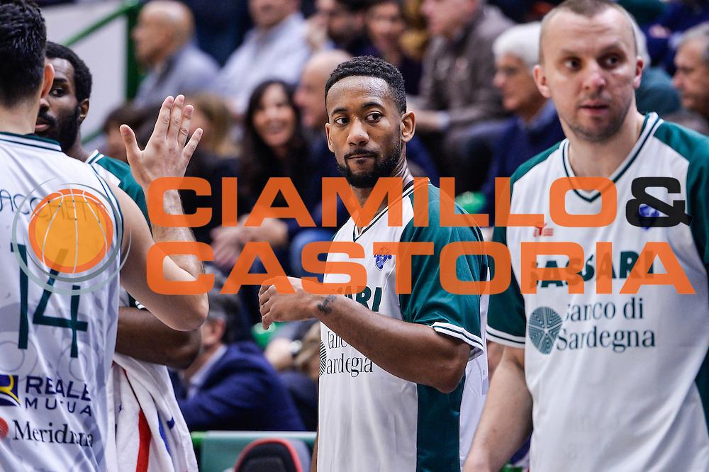 David Lighty<br /> Banco di Sardegna Dinamo Sassari - Le Mans Sarthe<br /> FIBA Basketball Champions League 2016/2017<br /> Ottavi di Finale<br /> Sassari 01/03/2017<br /> Foto Ciamillo-Castoria