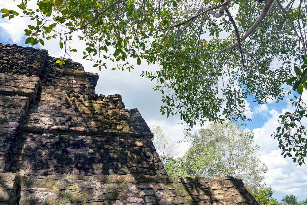 Costa Maya, Mexico and Chacchoben Mayan Ruins.