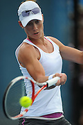 Brisbane, Australia, December 30: Sam Stosur of Australia plays a forehand shot during a training session on Show Court 5 at Pat Rafter Arena ahead of the 2012 Brisbane International Tennis Tournament in Brisbane, Australia on Friday December 30th, 2011. (Photo: Matt Roberts/Photo News)