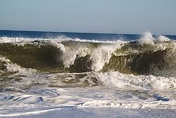 East Hampton ocean after a storm