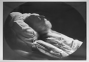 Portrait of Victor Hugo, French writer, 1802-85, on his deathbed in May 1885, photograph by Gaspard-Felix Tournachon, known as Nadar, 1820-1910. Copyright © Collection Particuliere Tropmi / Manuel Cohen