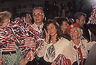 A Bush supporter reacts to the Bush loss on election night November 1992...Photograph by Dennis Brack bb24
