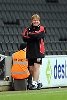 Milton Keynes Dons/Bradford FA Cup 1st Round 08.11.08 <br /> Photo: Tim Parker Fotosports International<br /> Stuart McCall Bradford City manager during the game