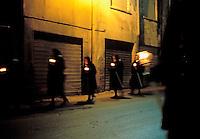 Italie. Sardaigne. Iglesias. Semaine Sainte. Paques. // Easter. Holy week. Iglesias. Sardinia. Italy