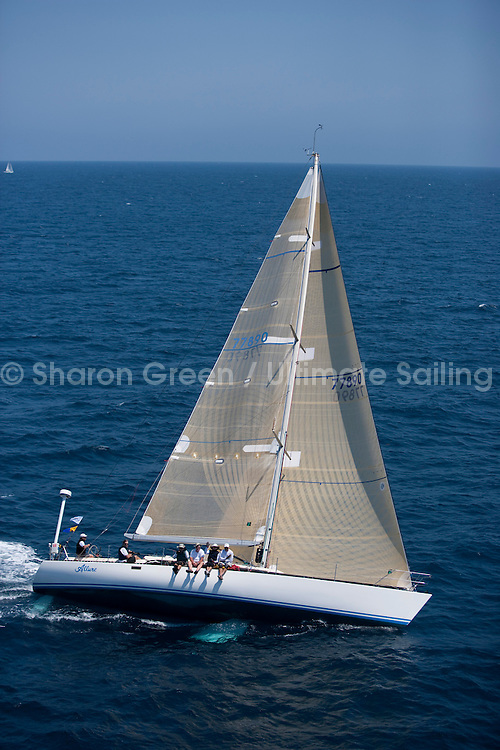 Transpac 2011.Long BeachTranspac Finish 2011, Allure..