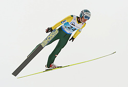 13.02.2013, Vogtland Arena, Kingenthal, GER, FIS Ski Sprung Weltcup, im Bild Michael Hayboeck, Oesterreich // during the FIS Skijumping Worldcup at the Vogtland Arena, Kingenthal, Germany on 2013/02/13. EXPA Pictures © 2013, PhotoCredit: EXPA/ Eibner/ Ingo Jensen..***** ATTENTION - OUT OF GER *****
