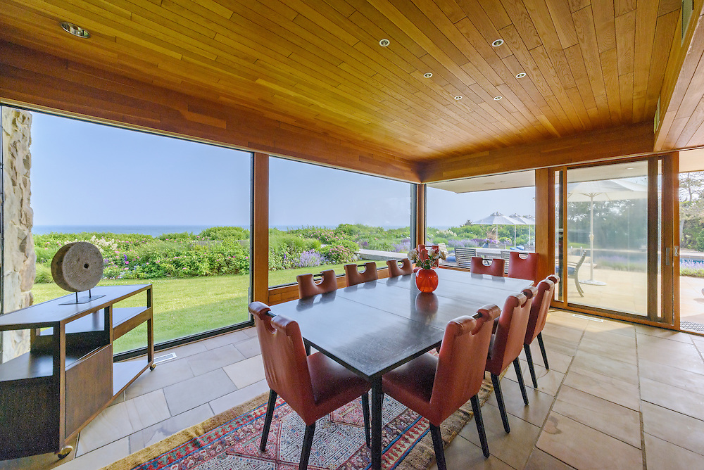 Modern Home Designed by Norman Jaffe, Barons Lane, Southampton, NY