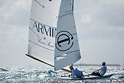 Marazzi Sailing Flavio Marazzi & Enrico de Maria Training in Perth Australia for the 2011 ISAF World Championship , qualification event for the 2012 Olympic Games