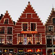 Houses in Bruges, Belgium